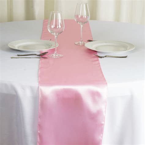 "50 pcs Wholesale Lot SATIN 12x108"" Table RUNNERS Wedding"