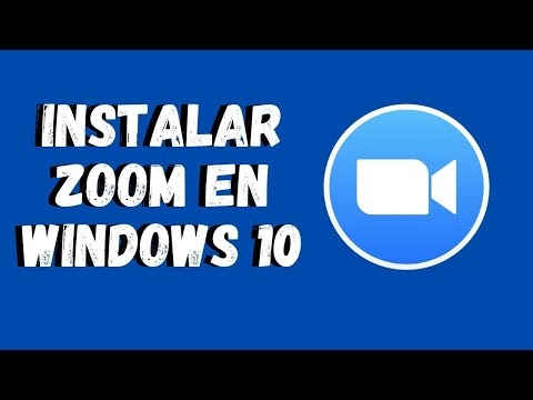 Como instalar zoom en Windows 10