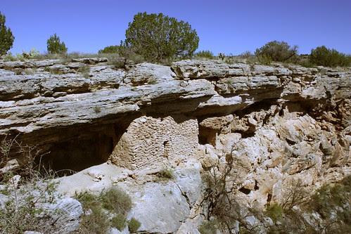 Cliff side dwellings