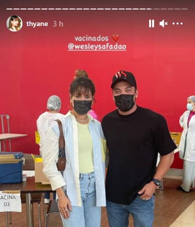 Amigo de Wesley Safadão interveio para cantor tomar dose única de vacina e poder fazer shows nos EUA e México, diz MP