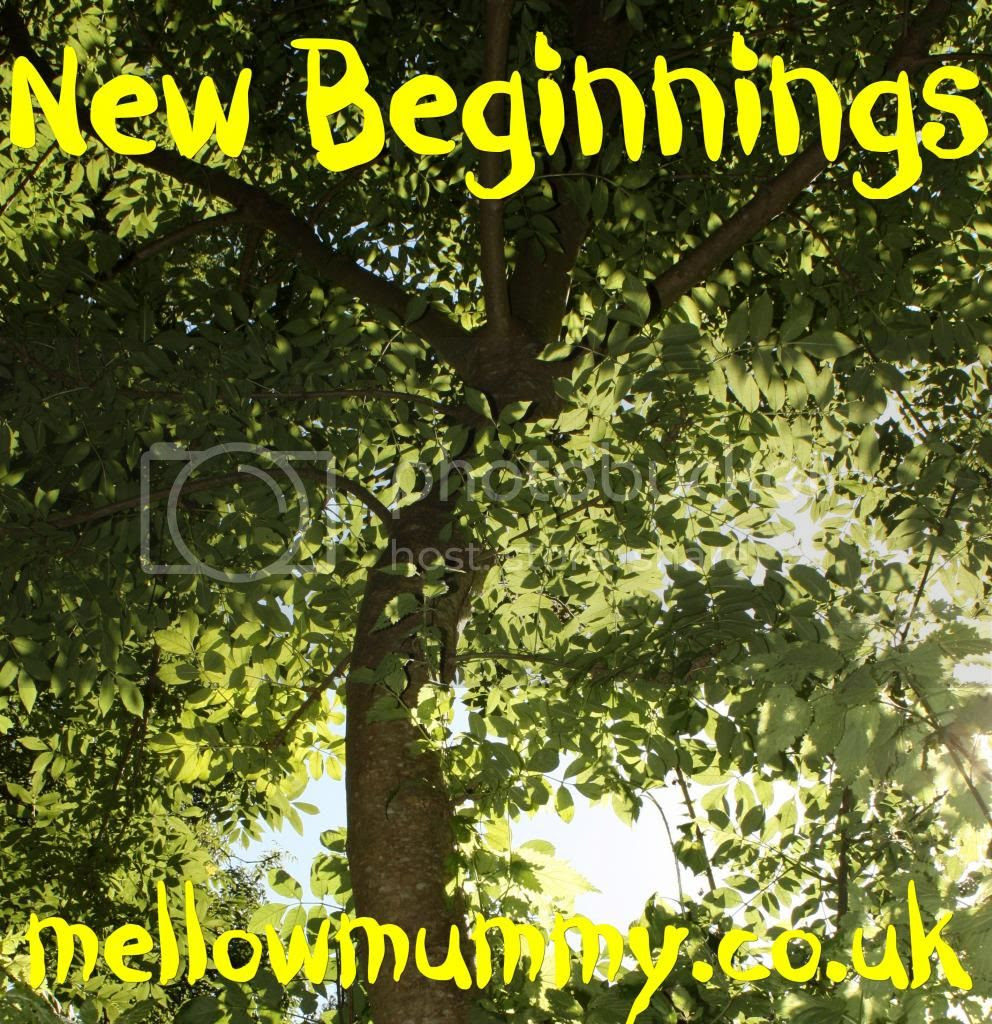 Mellow Mummy New Beginnings Blog Swap