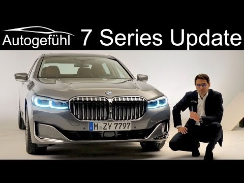 The new ridiculously looking BMW 7-series 2019