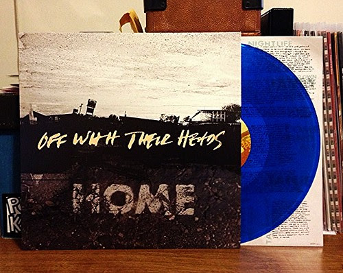 Off With Their Heads - Home LP - Blue Vinyl (/700) by Tim PopKid