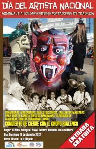 Día del Artista Nacional será dedicado a los mascareros