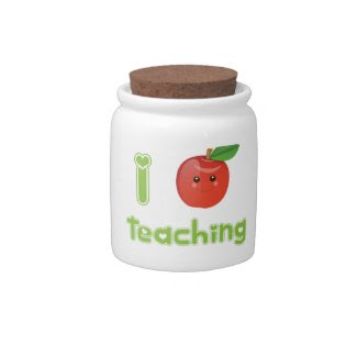 I Heart Teaching candyjar