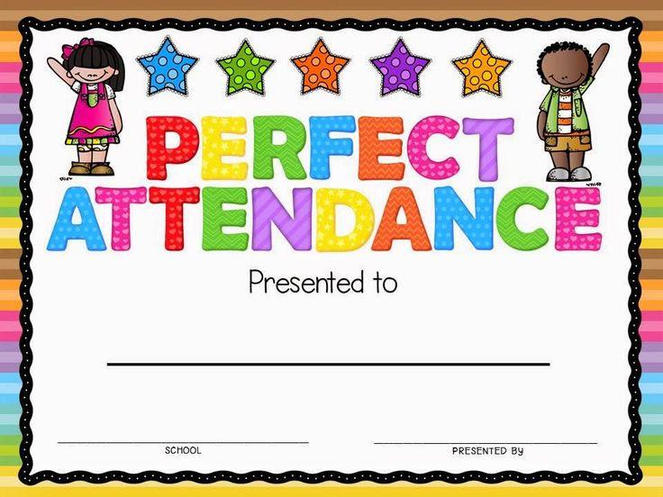 1000+ ideas about Attendance Certificate on Pinterest   Award ...