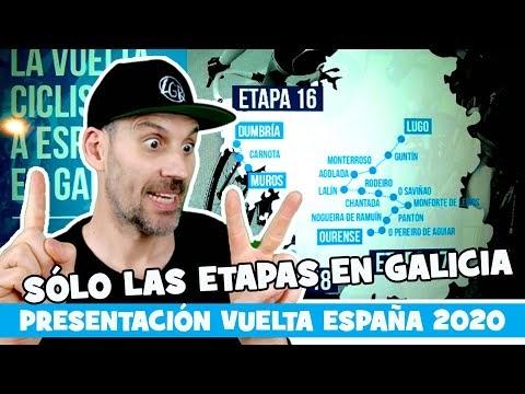 PRESENTACION DE LA VUELTA A ESPAÑA 2020... Sòlo las etapas en Galicia! - Alfonso Blanco