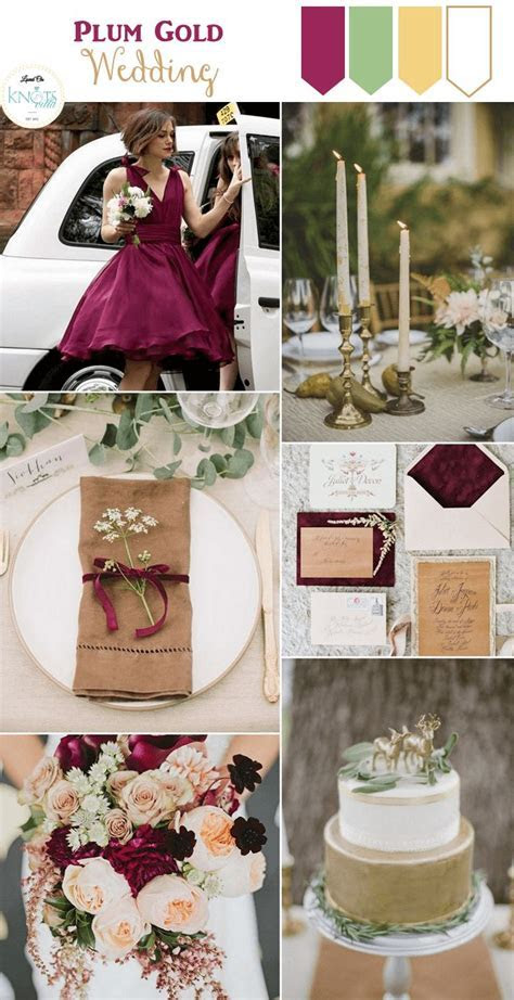 Best 25  Plum gold wedding ideas on Pinterest   Plum
