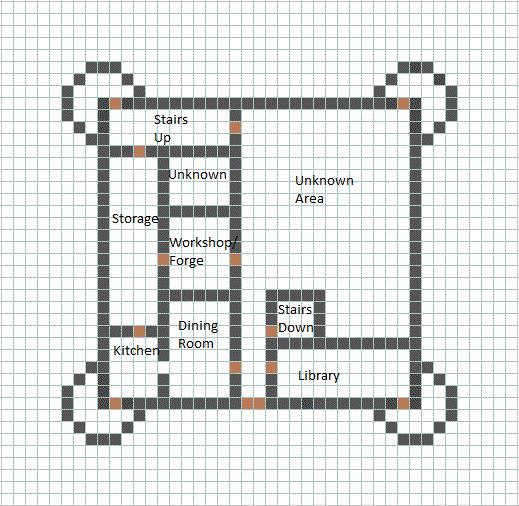 Castle Blueprint - Minecraft Constuctions Wiki