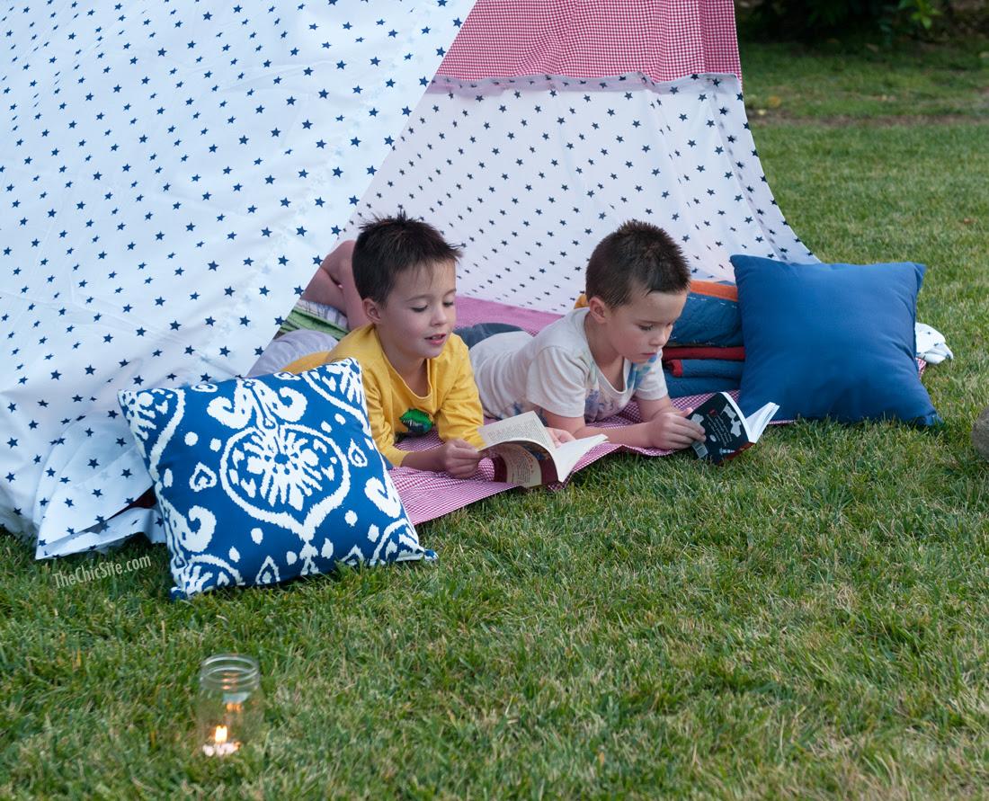 boys camping ideas