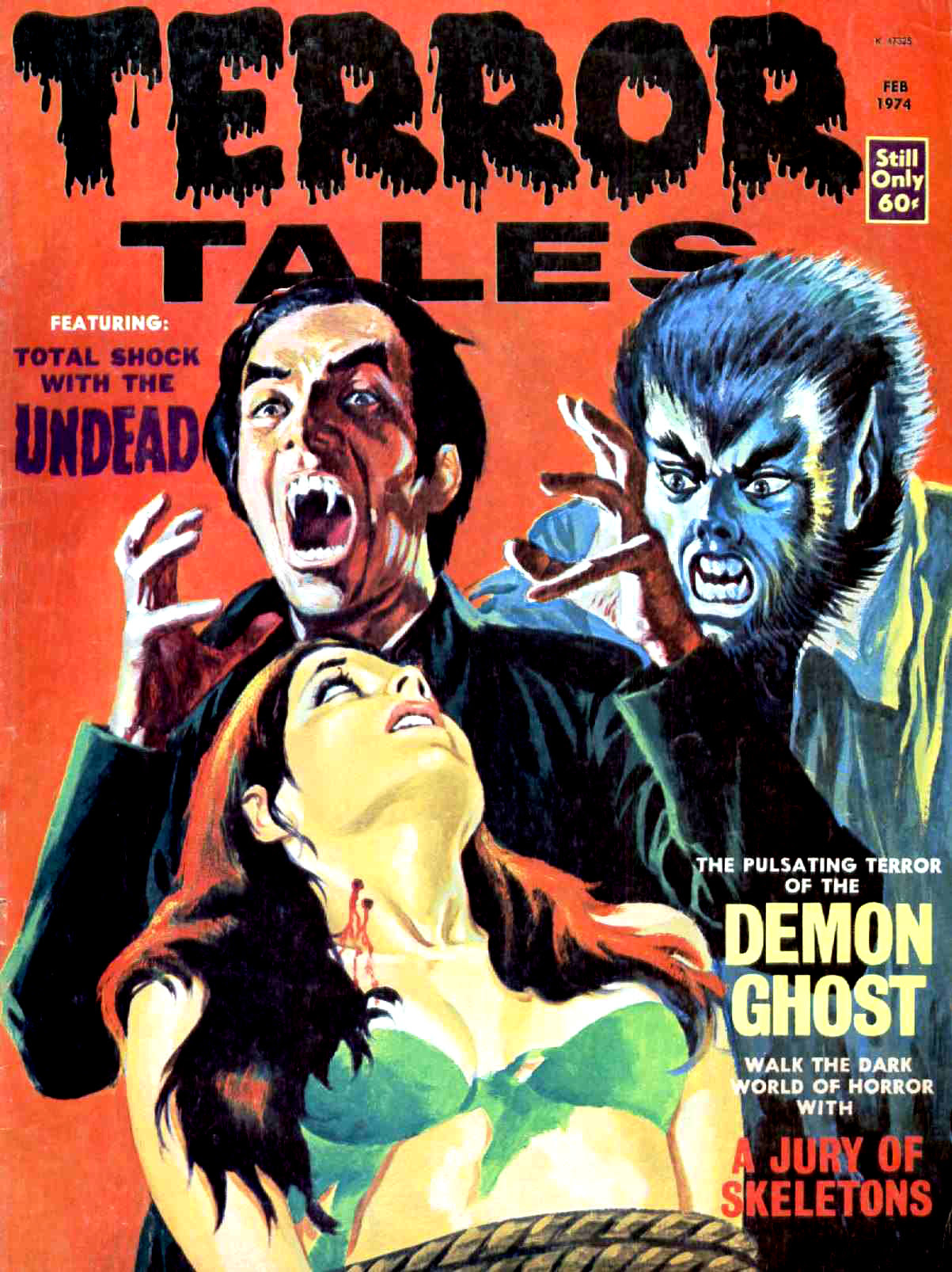 Terror Tales Vol. 06 #1 (Eerie Publications, 1974)