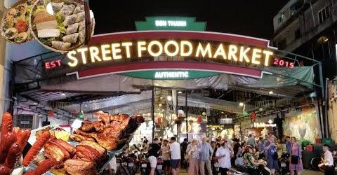 Street Food Market Sài Gòn về đêm có gì vui