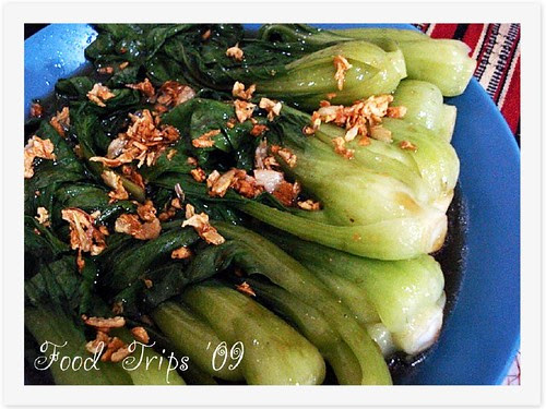 FT Bok Choi with Oyster Sauce