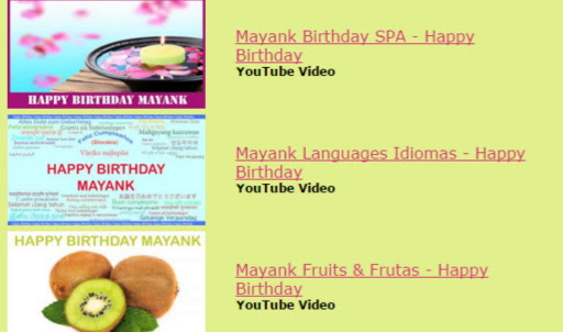 Get Birthday Songs With Name - Personalised Birthday Song