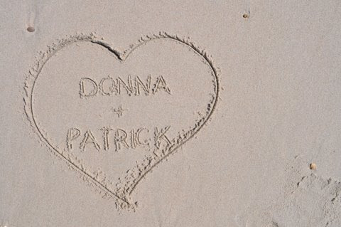 donna and patrick heart
