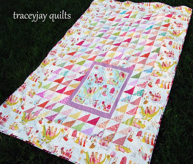 Kiley's custom quilt