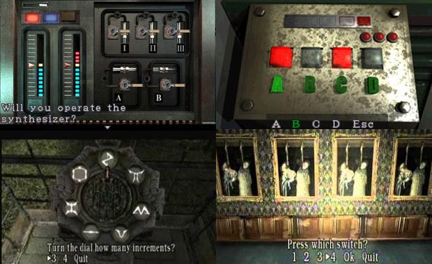 Puzzles da franquia Resident Evil (Foto: Reprodução)