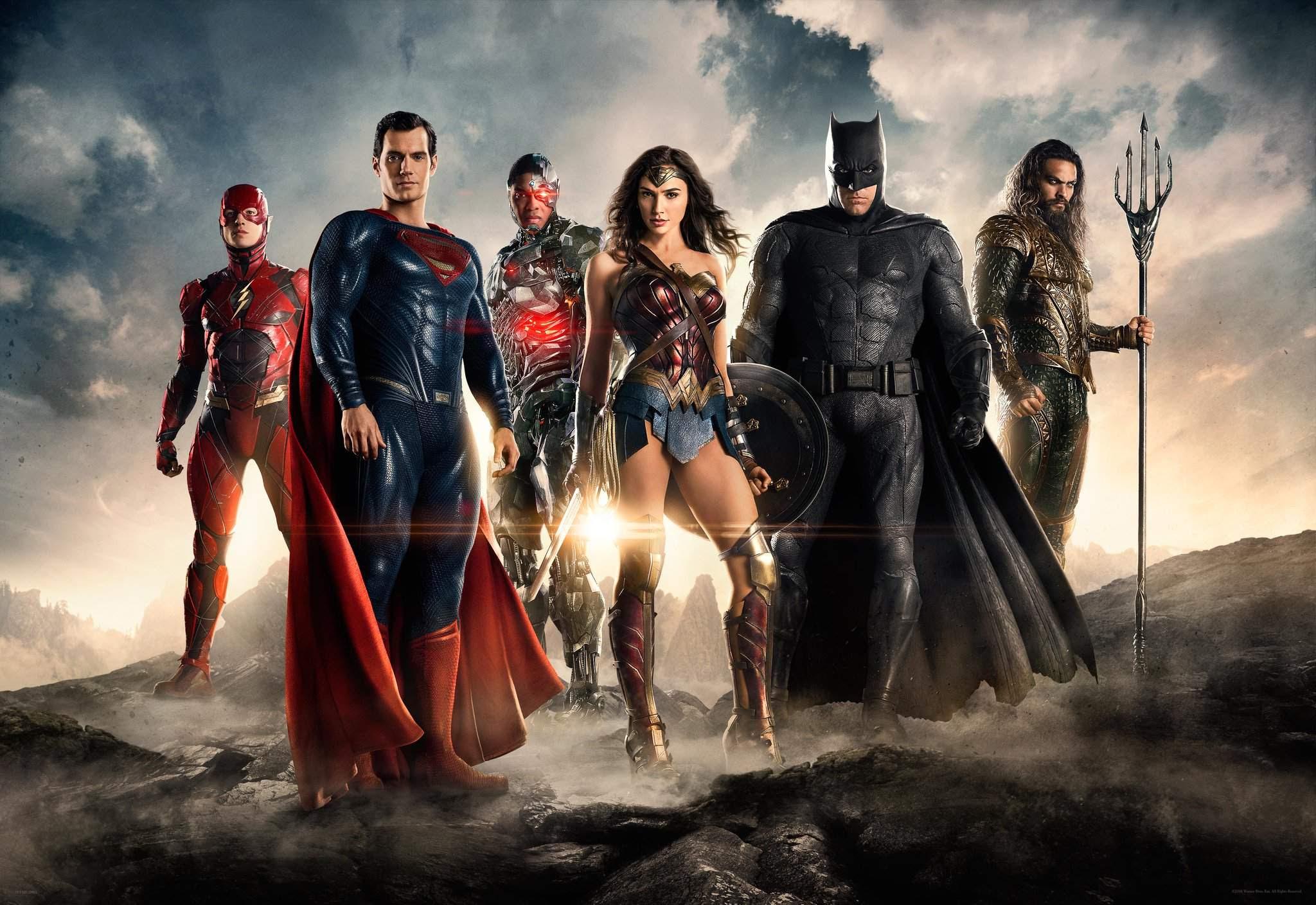 Resultado de imagem para Liga da Justiça 2017