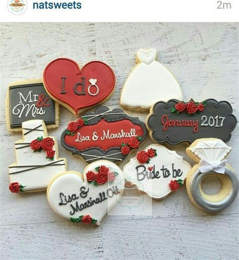 907 best images about Wedding / Anniversary Cookies on
