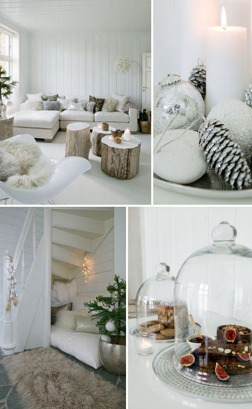 scandinavian winter home | the style files