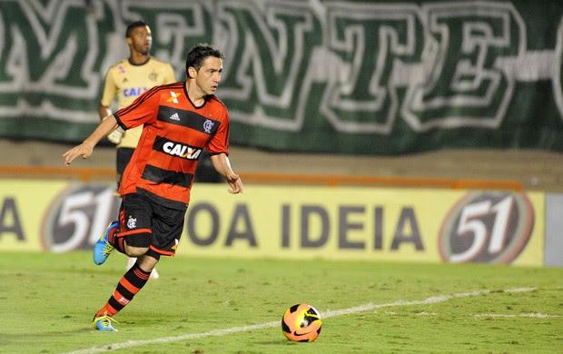 Chicão, Flamengo x Goiás (Foto: Alexandre Vidal/Fla Imagem)