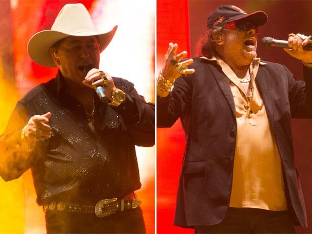 Milionário e José Rico cantam no Ribeirão Country Fest (Foto: Érico Andrande/G1)