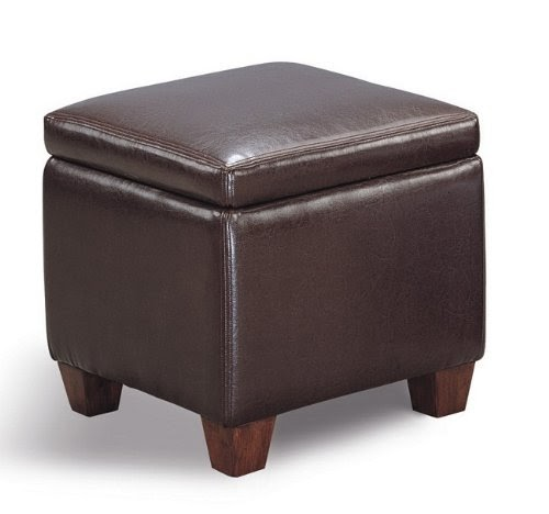 Affordable Ottomans: Cheap Ottomans And Footstools Rating & Review: Dark Brown