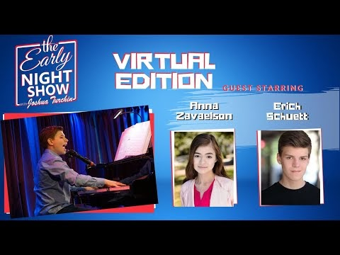 S2 Ep15 Erich Schuett and Anna Zavelson guest star on The Early Night Show w Joshua Turchin