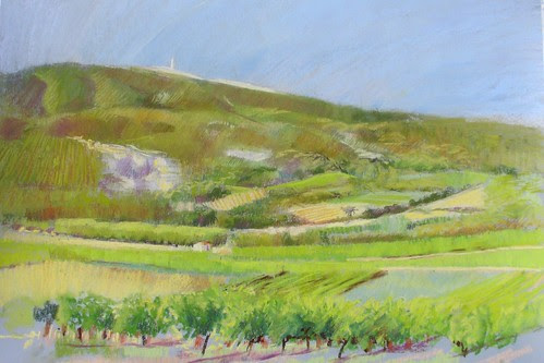 A View of Mont Ventoux - WIP by makingamark2