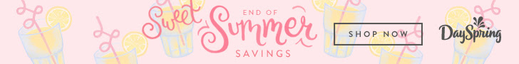 Save BIG With Sweet End-of-Summer Savings Event at Dayspring! @Dayspring #IllustratedFaith