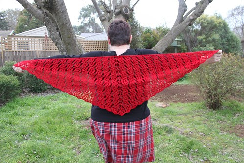 Glorious Morning Shawl