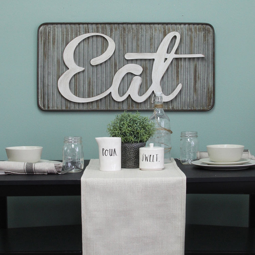 Stratton Home Decor Retro Eat Wall Decor Home N Hearts