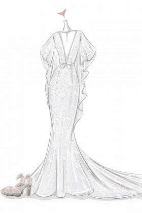 Wedding Dress Sketches, Prom Dress Sketches, Free