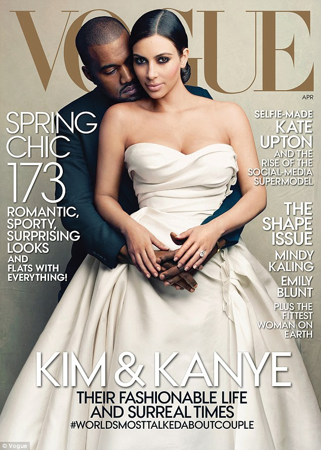 Vogue cover stars: It was a dream come true for the reality star who appeared on the April 2014 cover of the style bible