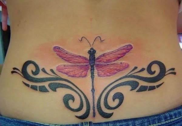 75 desenhos de tatuagem de libélula bonito e sexy 10 por Bryan