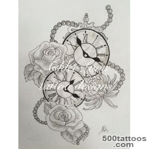Clock Tattoo Designs Ideas Meanings Images