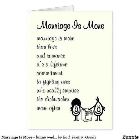 Funny Wedding Poems For Friends   Weddings234