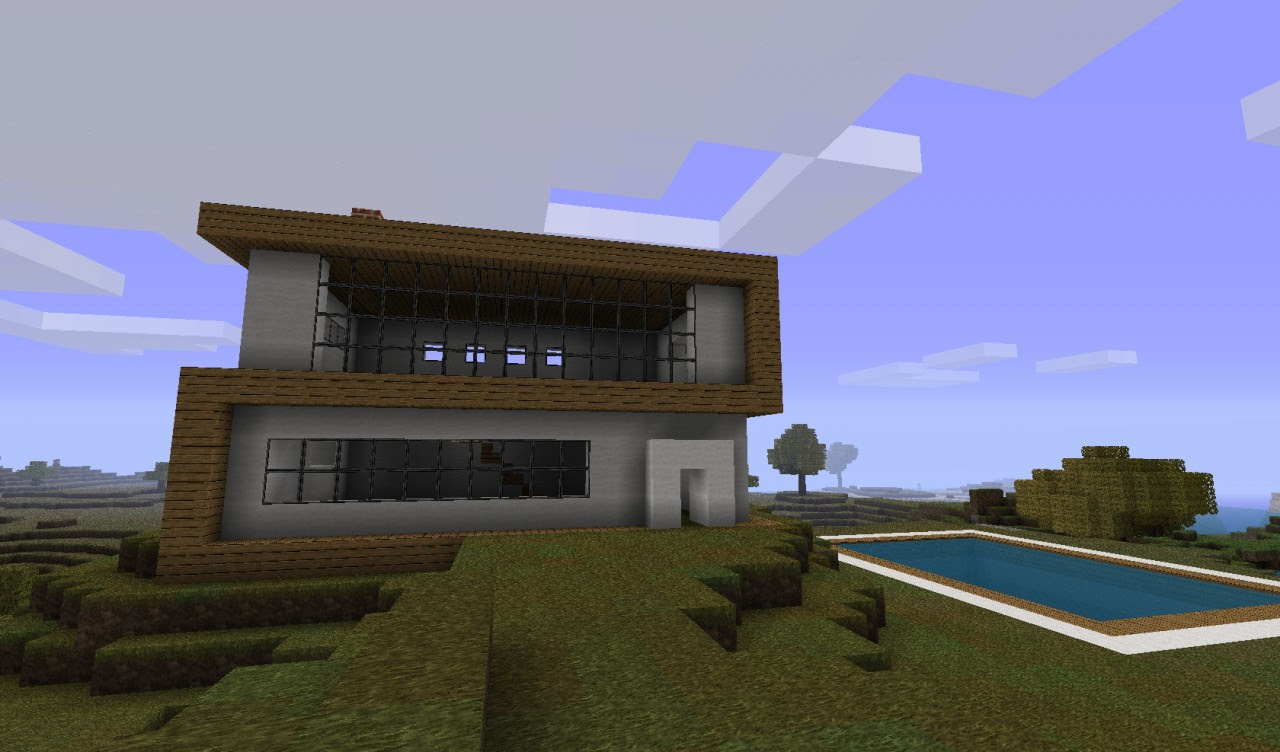Most Popular 36 Modern House Design Minecraft