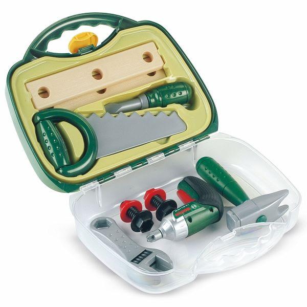 Theo Klein 8466 - Bosch: Werkzeugkoffer mit Ixo ...