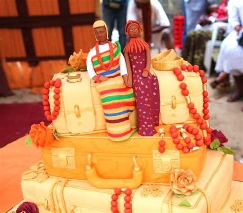 Nigerian Traditional Wedding Cakes!   Food   Nigeria
