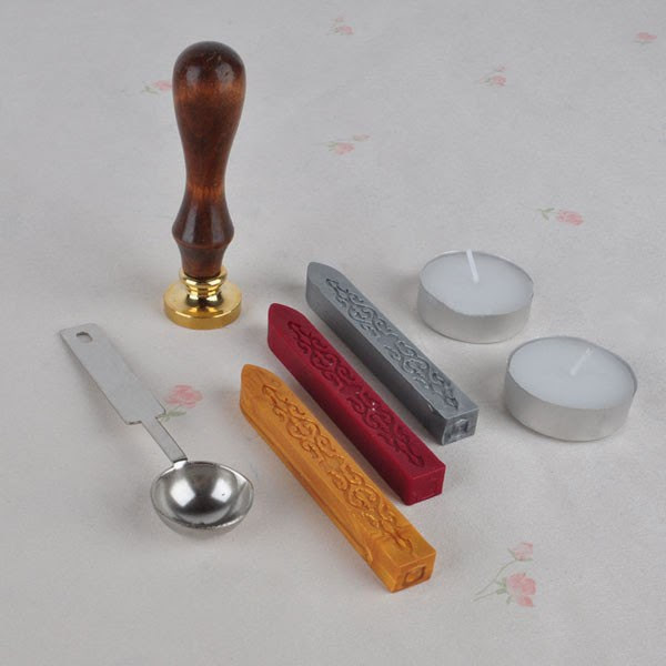 9. Набор для сургучных печатей — 603 руб. магазины, товары