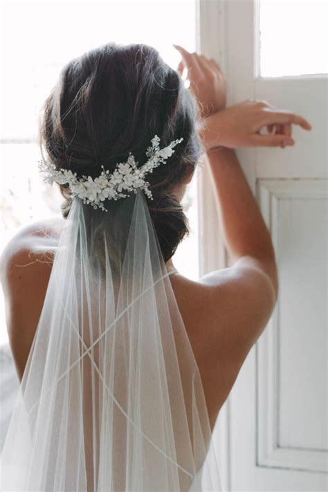 MARION   delicate floral bridal comb   TANIA MARAS