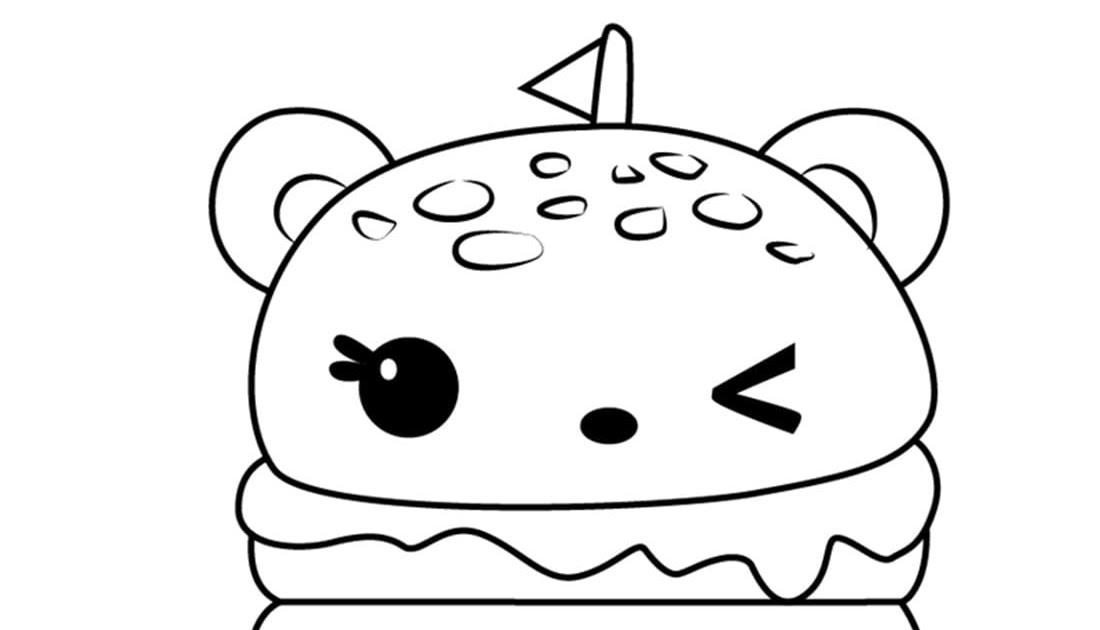 ausmalbilder kawaii  ausmalbilder essen kawaii  sie