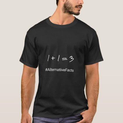 Funny math hashtag alternative facts T-Shirt
