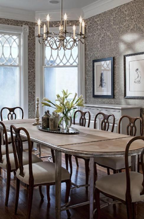 Swedish Chairs - Transitional - dining room - Buckingham Interiors