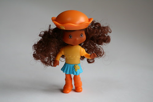 Curly-haired doll from Burger King
