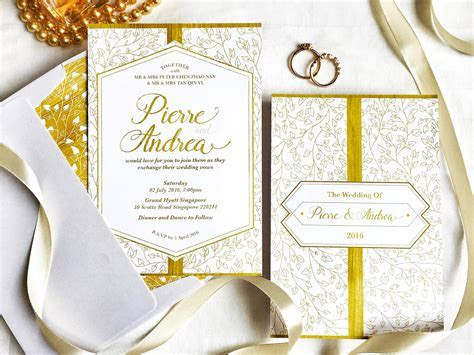 Wedding Invitation Cards in Singapore: 5 Online Stores to