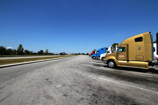 I-75 Rest Stops