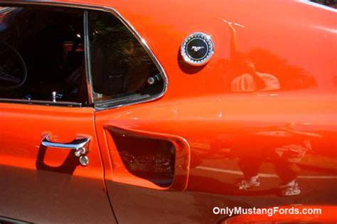 1969 Ford Mustang Rear Quarter Panels
