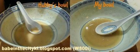 sapporo - empty bowls